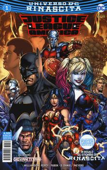 Rinascita. Justice League America. Con Adesivi. Vol. 1.pdf