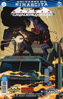 Nicocaradonna.it Rinascita. Batman. Il cavaliere oscuro. Con Adesivi. Vol. 3 Image