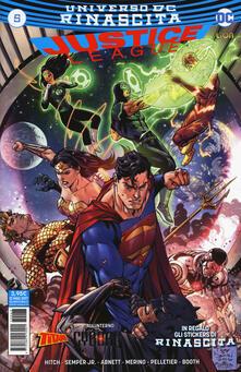 Steamcon.it Rinascita. Justice League. Con Adesivi. Vol. 5 Image