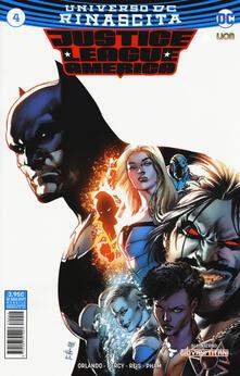 Secchiarapita.it Rinascita. Justice League America. Vol. 4 Image