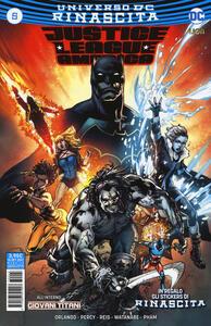 Rinascita. Justice League America. Con adesivi. Vol. 5