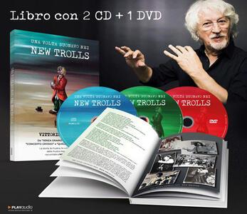 CD Una volta suonavo nei New Trolls (2 CD + DVD + Libro) Vittorio De Scalzi