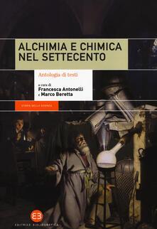Squillogame.it Alchimia e chimica nel Settecento. Antologia di testi Image