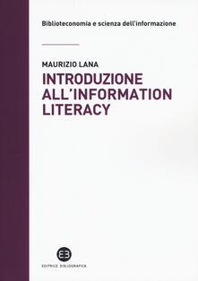 Ristorantezintonio.it Introduzione all'information literacy. Storia, modelli, pratiche Image