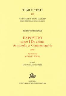 Secchiarapita.it Expositio super primo «De anima Aristotelis et commentatoris» (1503) riportata da Antonio Surian Image