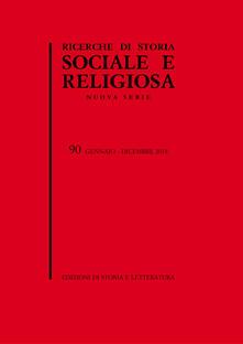 Winniearcher.com Ricerche di storia sociale e religiosa. Vol. 90 Image