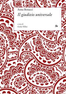 Libro Il giudizio universale Anna Bonacci