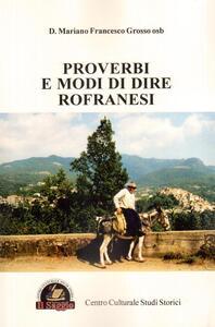Proverbi e modi di dire rofranesi
