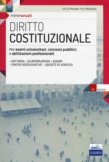 Steamcon.it Diritto costituzionale. Per esami universitari, concorsi pubblici e abilitazioni professionali. Con espansione online Image