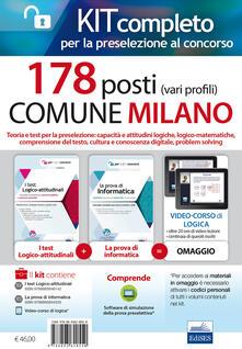 Ristorantezintonio.it Concorso 178 Posti Comune di Milano. Kit per la preselezione. Con Contenuto digitale per accesso on line Image