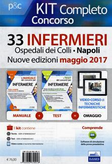 Premioquesti.it Concorso 33 infermieri Ospedali dei Colli, Napoli. Kit completo. Con aggiornamento online Image