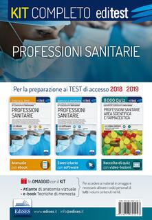 Ristorantezintonio.it Professioni sanitarie. Kit completo. Con Contenuto digitale (fornito elettronicamente) Image
