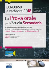 Libro CC 4/31 la prova orale per la scuola secondaria. Ambito 6. Con espansione online