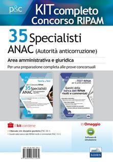 Tegliowinterrun.it Kit concorso Ripam 35 specialisti ANAC Image