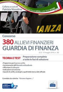 Antondemarirreguera.es Concorso 380 allievi finanzieri nella Guardia di Finanza. Teoria e test. Preparazione completa a tutte le fasi di selezione. Con software di simulazione Image
