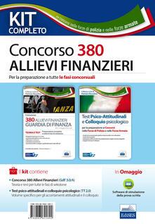 Nicocaradonna.it Kit completo Concorso 380 allievi finanzieri nella Guardia di Finanza. Con software di simulazione Image