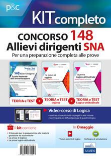 Winniearcher.com Kit completo concorso 148 Allievi Dirigenti SNA (Scuola Nazionale dell'Amministrazione). Con software di simulazione Image