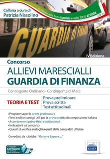 Tegliowinterrun.it Concorso Marescialli Guardia di finanza. Prova preliminare, prova scritta di italiano, test attitudinali Image