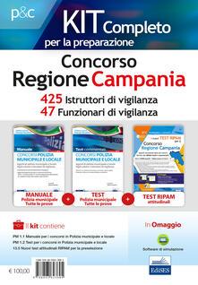 Grandtoureventi.it Concorso Regione Campania. Kit completo per la preparazione. 425 Istruttori di vigilanza (VGC/CAM). 47 Funzionari di vigilanza (VGC/CAM). Con software di simulazione Image