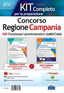 Fondazionesergioperlamusica.it Concorso Regione Campania. Kit completo 380 funzionari amministrativi. Con software di simulazione Image