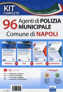 Kit completo per il concorso di 96 agenti di Polizia municipale nel Comune di Napoli. Con software di simulazione.pdf