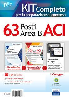 Vitalitart.it Kit completo per la preparazione al concorso 63 posti nell'ACI (area B). Manuale di preparazione, test di verifica online e simulazioni d'esame Image