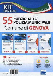 Nicocaradonna.it Kit Completo concorso 55 funzionari di Polizia Municipale Comune di Genova. Con software di simulazione Image