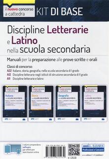 Nordestcaffeisola.it Kit discipline letterarie e latino nella scuola secondaria. Classi A22, A12 e A11. Con software di simulazione Image