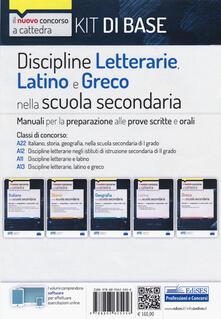Lpgcsostenible.es Kit discipline letterarie, latino e greco. Classi A22, A12, A11, A13. Con software di simulazione Image