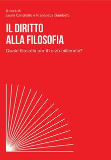 Nicocaradonna.it Il diritto alla filosofia. Quale filosofia per il terzo millennio? Image