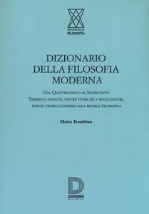 Dizionario della filosofia moderna