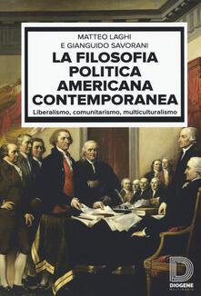 Cefalufilmfestival.it La filosofia politica americana contemporanea. Liberalismo, comunitarismo, multiculturalismo Image