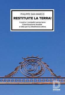 Voluntariadobaleares2014.es Restituite la terra! I conti e i contadini senza terra. Colonizzazione feudale e lotta per la cittadinanza attiva Image