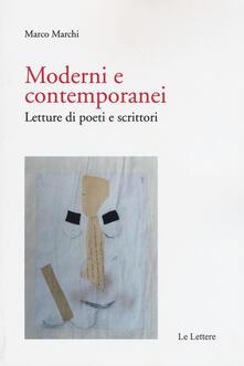 Moderni e contemporanei. Letture di poeti e scrittori.pdf