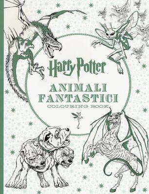 Harry Potter Animali Fantastici Colouring Book Ediz A Colori