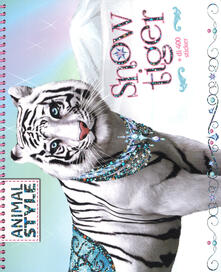 Daddyswing.es Snow Tiger. Animal style. Ediz. a colori Image
