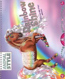 Rallydeicolliscaligeri.it Rainbow Shine. Animal style. Ediz. a spirale Image