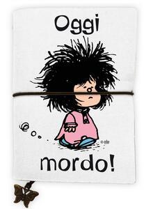 Cartoleria Quaderno piccolo Mafalda. Oggi mordo! Magazzini Salani