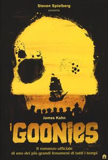 I Goonies - James Kahn - copertina