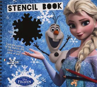 Frozen. Libro stencil. Ediz. a colori. Ediz. a spirale. Vol. 1