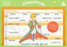 Premioquesti.it Il Piccolo Principe. Calendario della famiglia 2020 Image