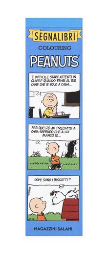 Peanuts. Segnalibri colouring.pdf