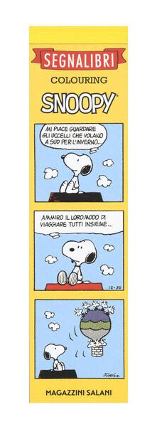 Snoopy. Segnalibri colouring.pdf