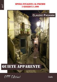 Quiete apparente - Claudio Paganini - copertina