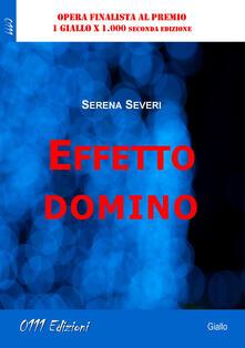 Effetto domino - Serena Severi - copertina