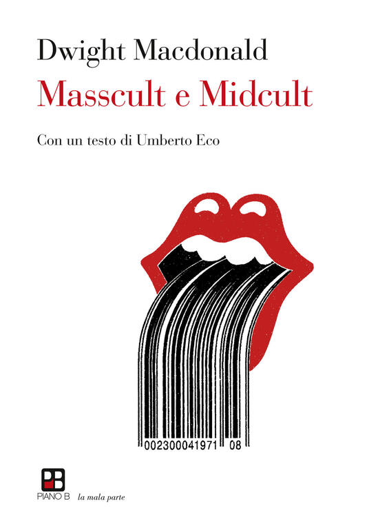 Masscult e midcult - Dwight Macdonald - copertina