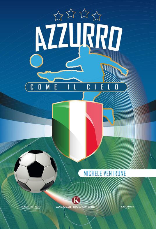 Azzurro come il cielo - Michele Ventrone - copertina