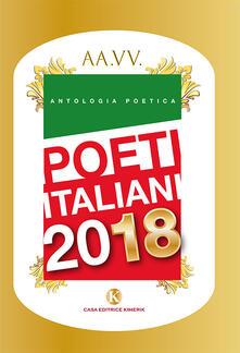 Poeti italiani 2018 - copertina