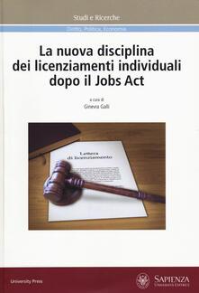 Listadelpopolo.it La nuova disciplina dei licenziamenti individuali dopo il Jobs Act Image
