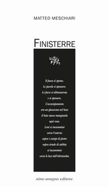 Finisterre - Matteo Meschiari - copertina
